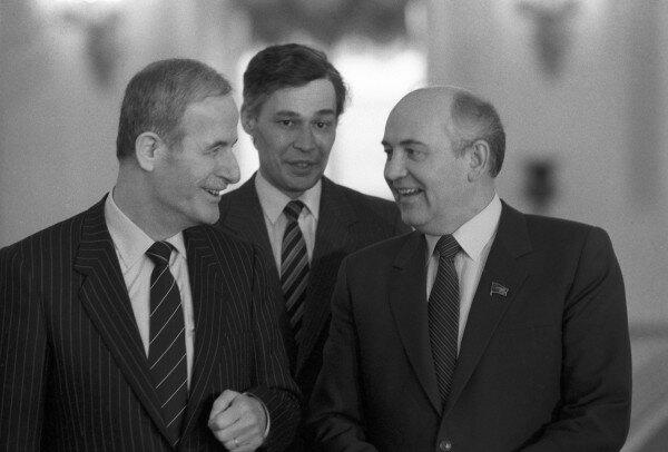 Первое обращение черкесов Сирийской Арабской Республики к Горбачеву