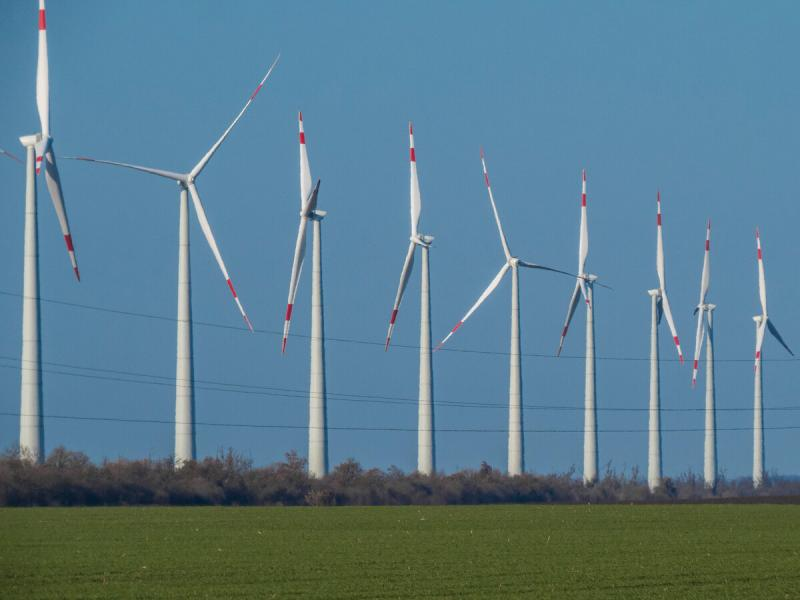 Ветропарк в Адыгее присоединен к Единой электрической сети России