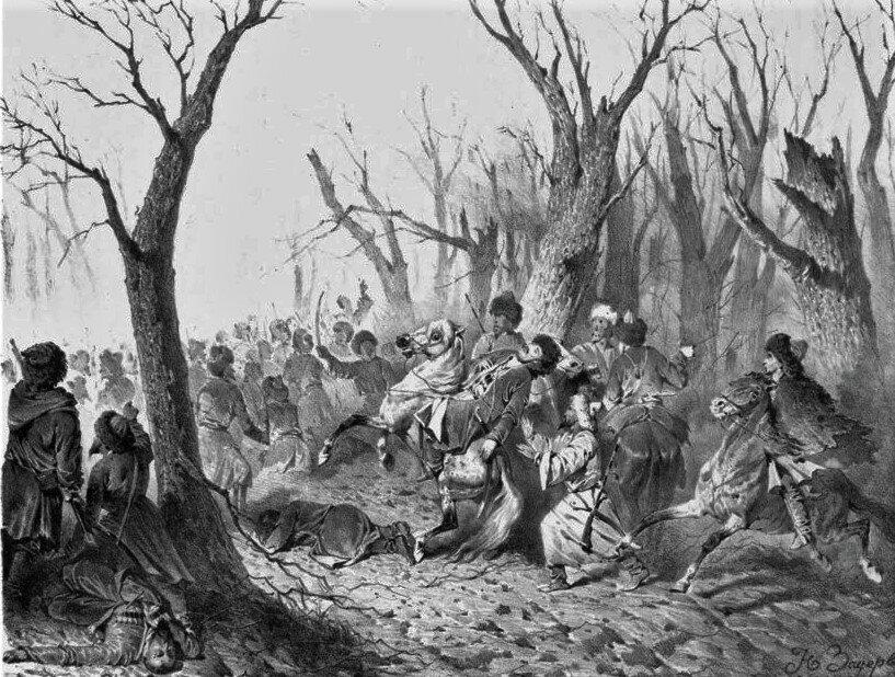Разгром чеченцами гребенских казаков в 1832 году по чеченским и русским источникам