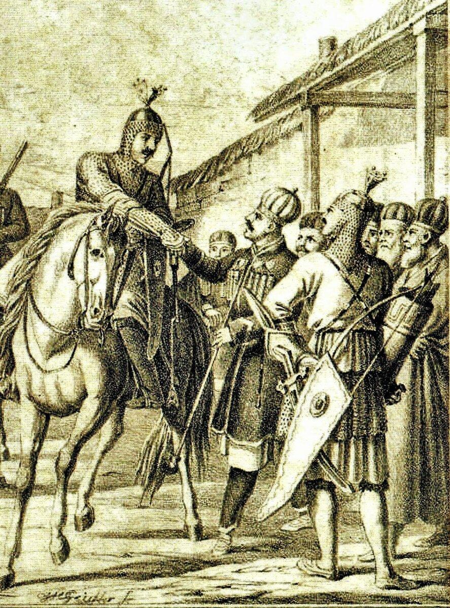 Черкесское общество представляло романтичный период средневековой европейской истории - эпоху рыцарства