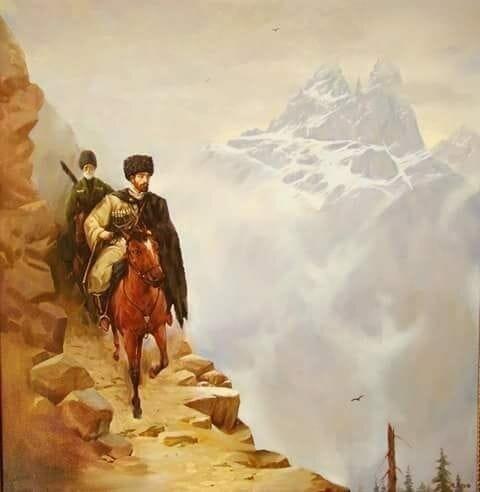 Генерал Альбрант, воевавший на Кавказе