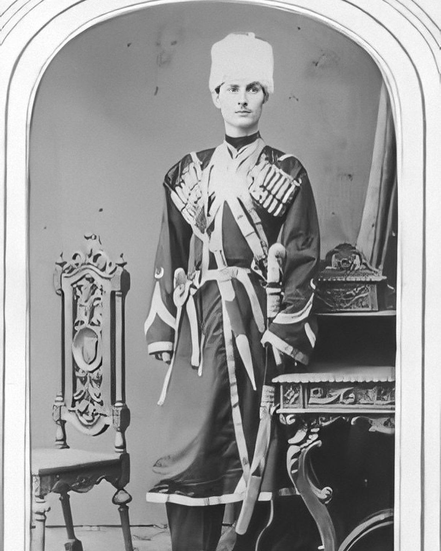 Черкесский мужчина в Стамбуле 1880
