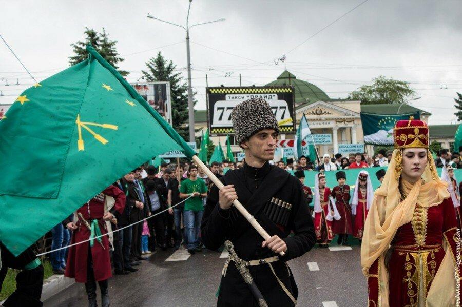 Формирование черкесского движения в разных странах