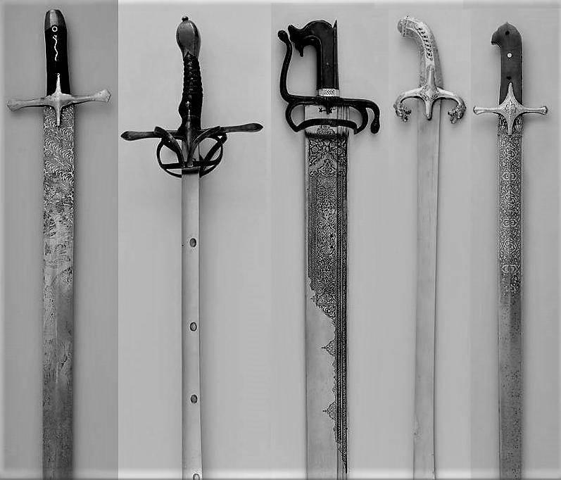 Самые интересные палаши из собрания Оружейной палаты Дрездена