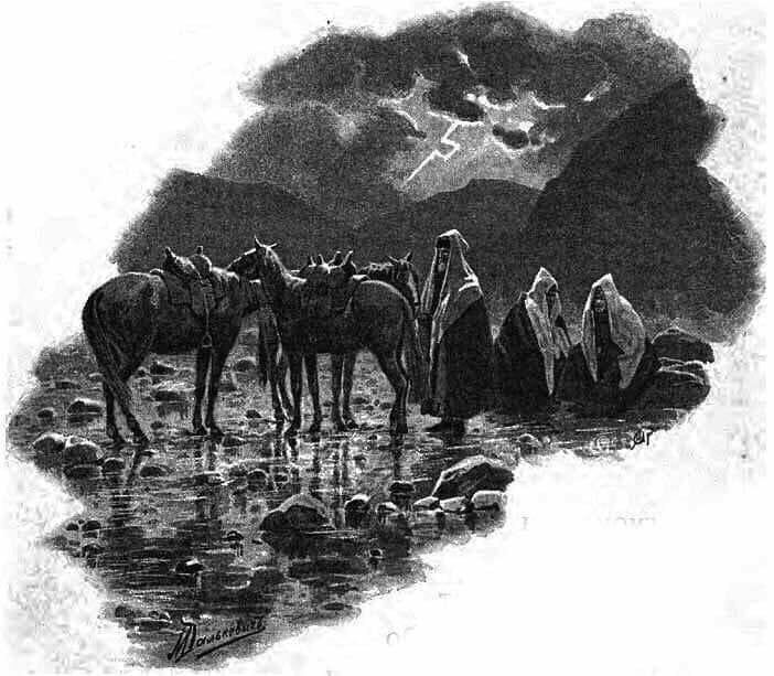 История предательского полуэскадрона на Кавказе