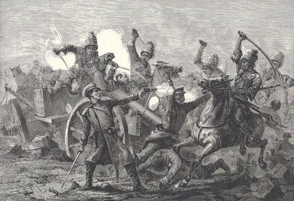 Черкесы в Сарыкамышской битве (1914-1915)