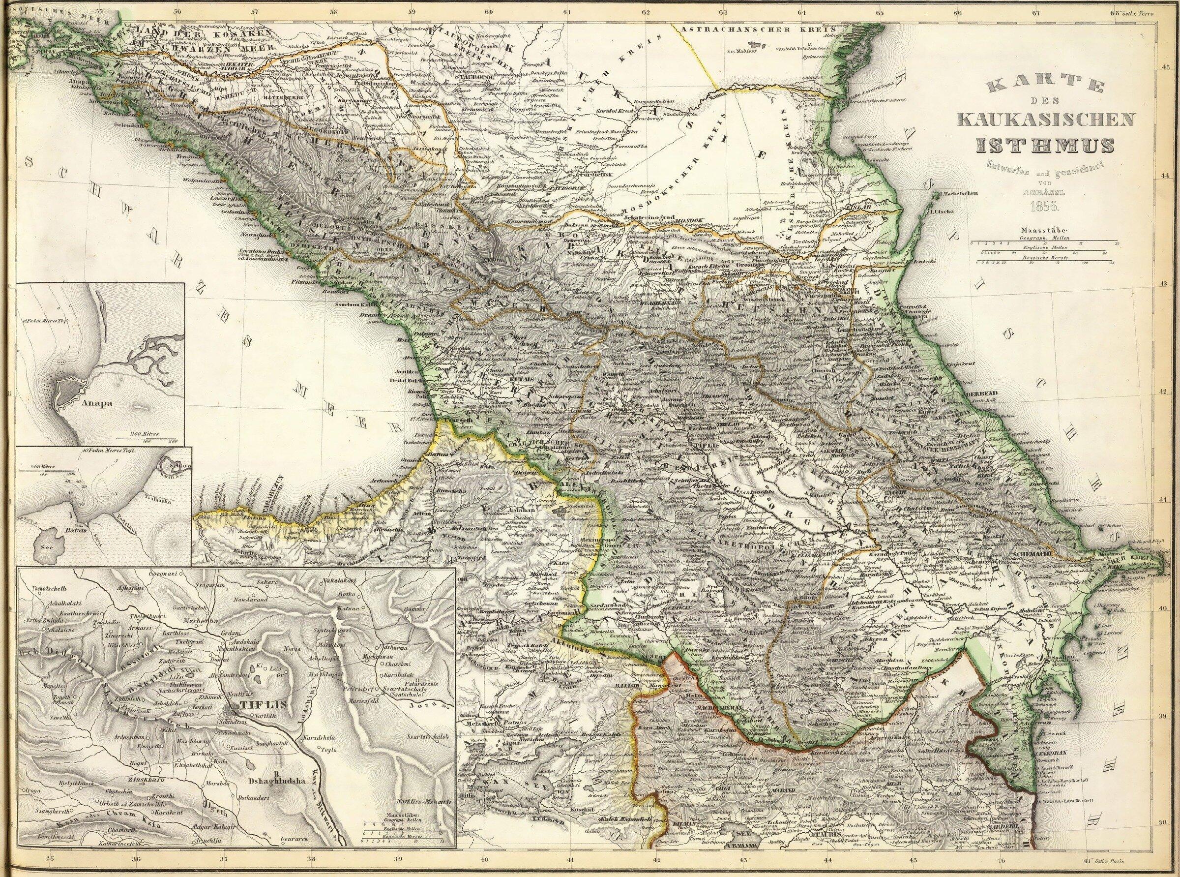 Зубов П.П. Описание Черкесии 1835 г.