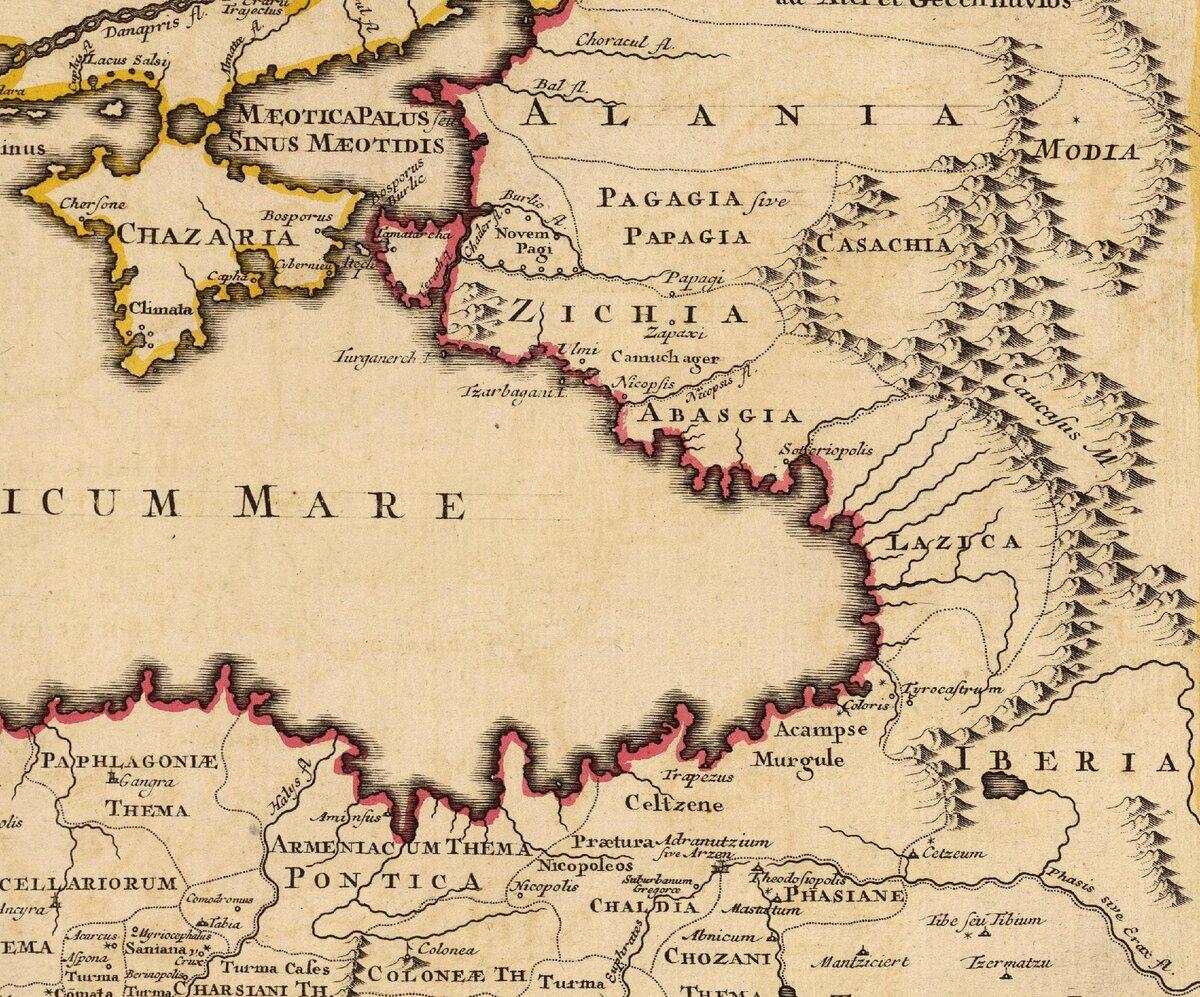Деятельность князя Инала, объединившего черкесские княжества в единую страну