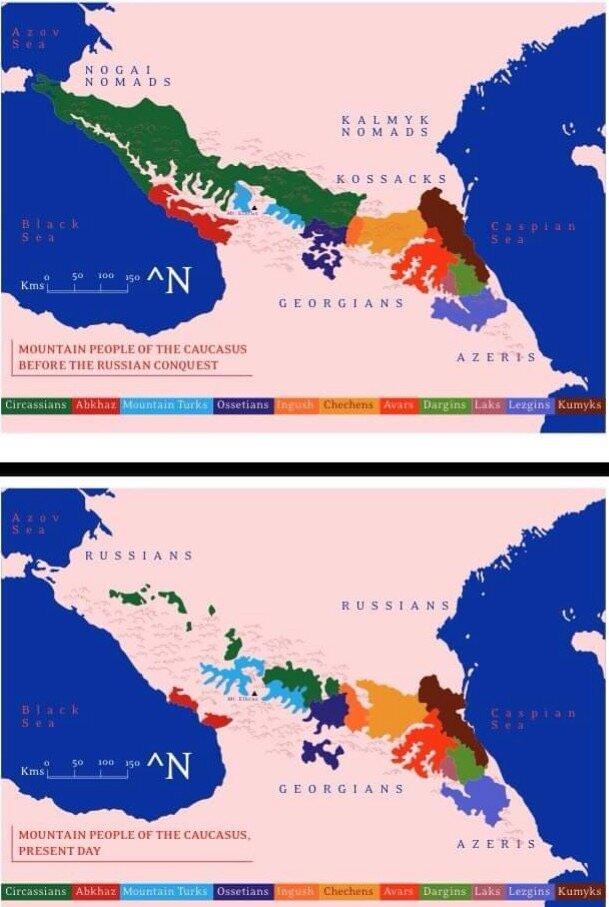 План Евдокимова, этнические чистки на Западном Кавказе