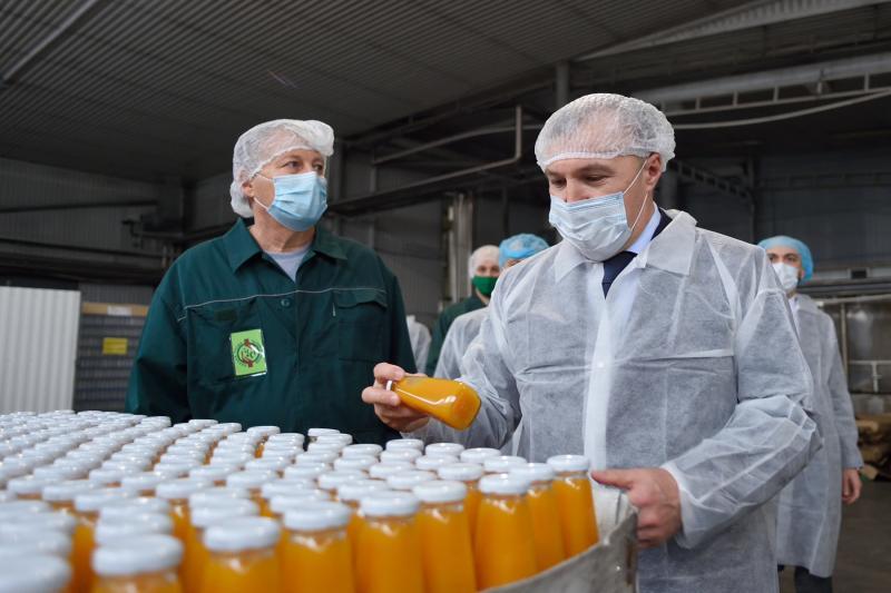 Глава Адыгеи посетил предприятие «Комплекс Агро», которое завершило модернизацию производства