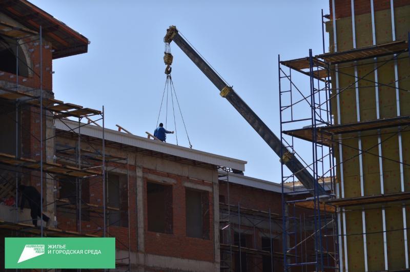 В Адыгее выданы разрешения на строительство 157 многоэтажек