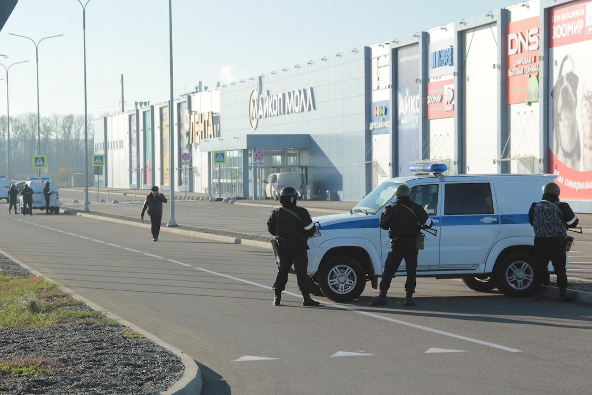 Силовики Адыгеи пресекли условный теракт в торговом центре