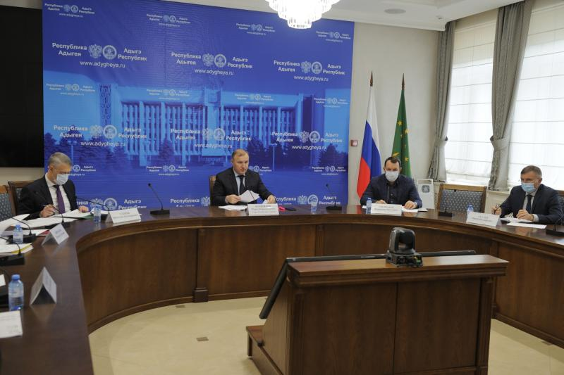 Глава Адыгеи принял участие в совещании под председательством Министра экономического развития РФ