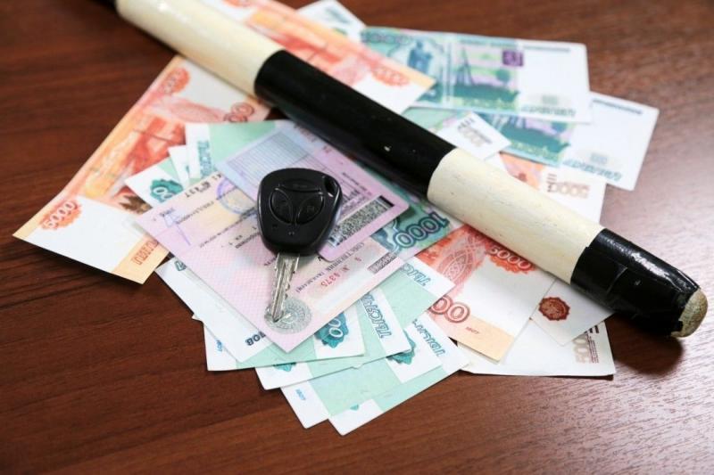 Житель Адыгеи оплатил 50 штрафов под угрозой продажи с молотка его грузовика