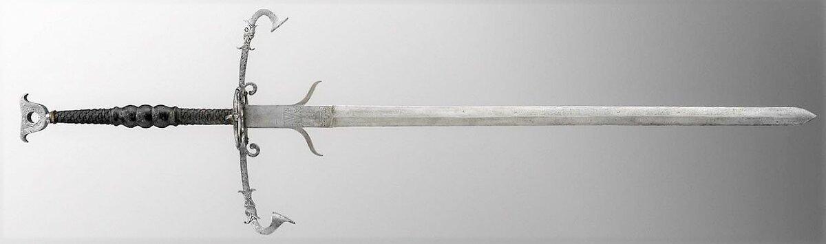 Двуручные мечи сарматов? И техника боя с ними