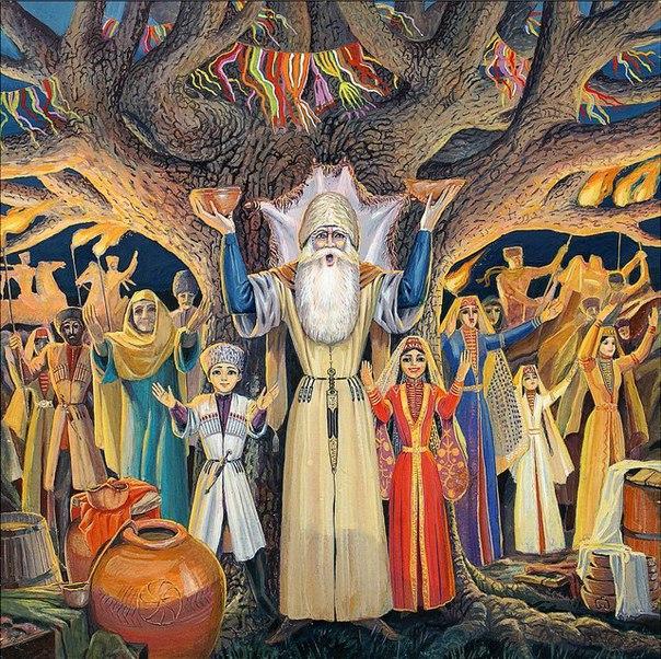 Празднование Нового года по адыгским традициям «ИлъэсыкIэ мэфэкI» организуют в пригороде Майкопа
