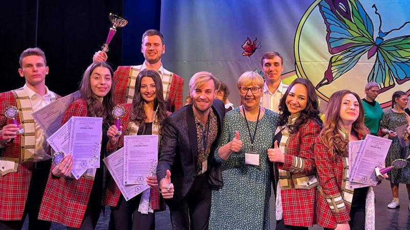 Солисты вокального ансамбля института искусств Адыгейского госуниверситета завоевали Гран-при международного конкурса