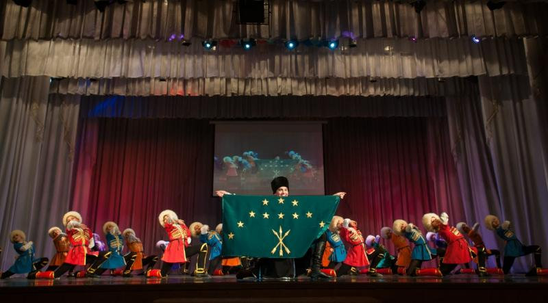 Коллектив студии народного танца «Майкопчанка» стал обладателем Гран-при международного конкурса