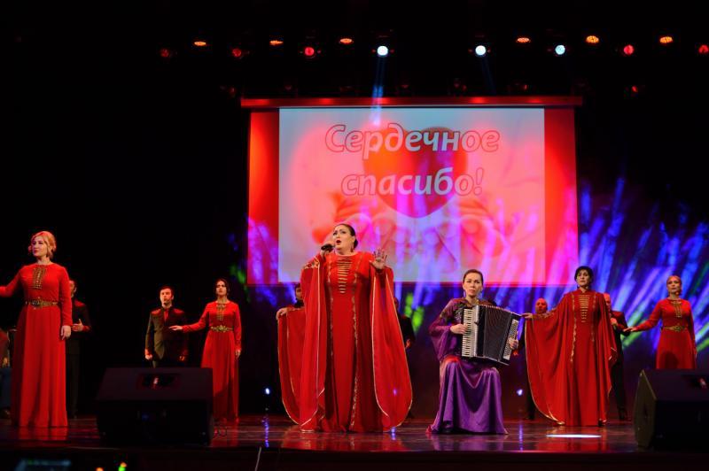 """В Адыгее прошел благотворительный концерт ансамбля """"Исламей"""" для медиков"""