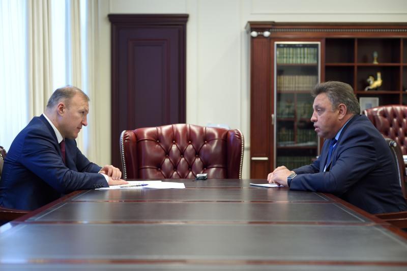 Глава Адыгеи провел встречу с председателем Комитета Совета Федерации по регламенту и организации парламентской деятельности