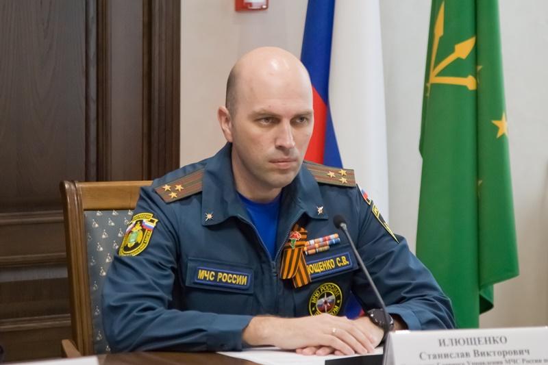 Новым начальником Главного управления МЧС по Адыгее стал Станислав Илющенко
